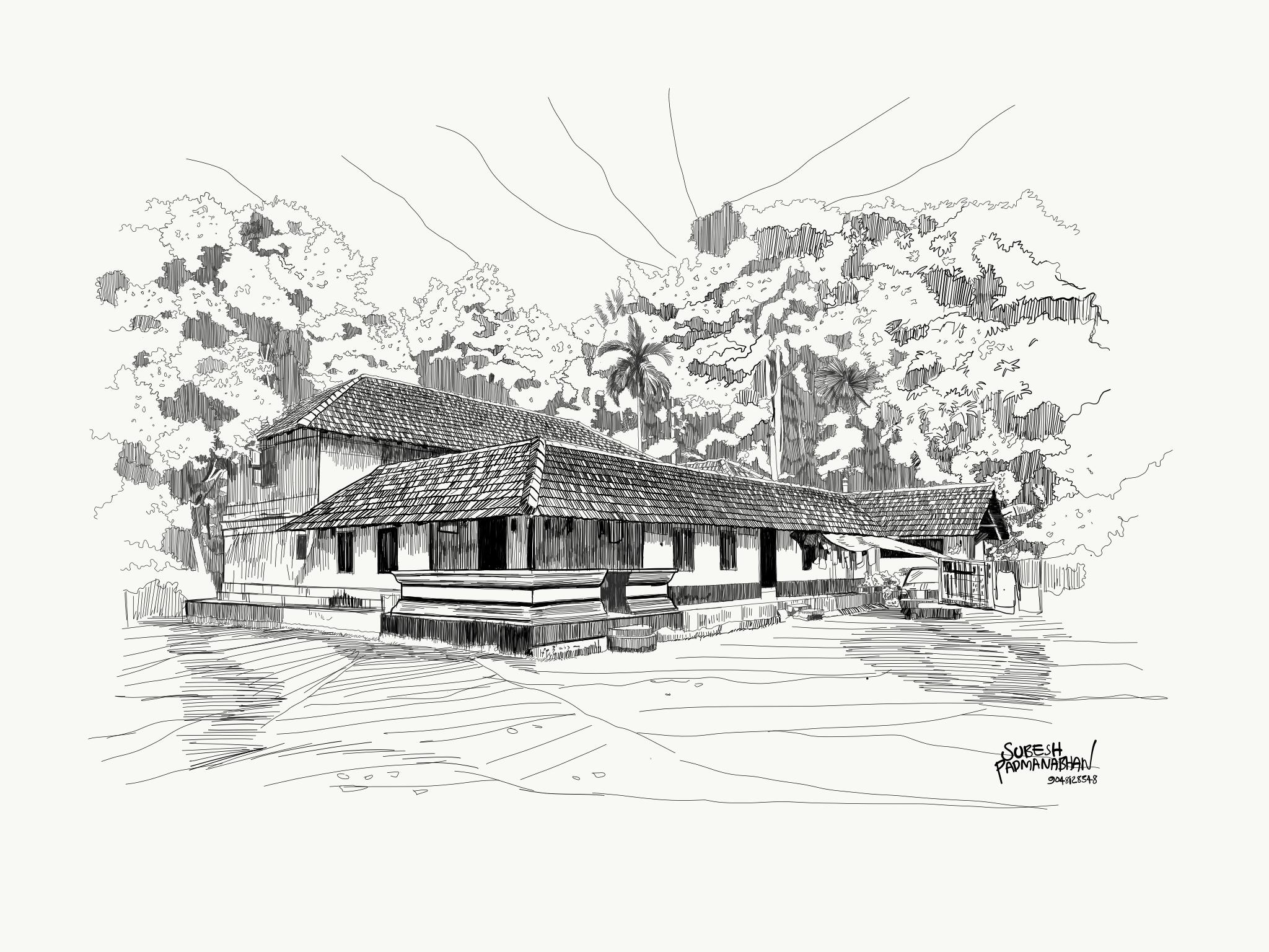 Artist Subesh Padmanabhan