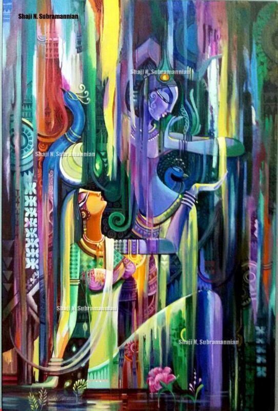 Artist Shaji N Subrahmannian